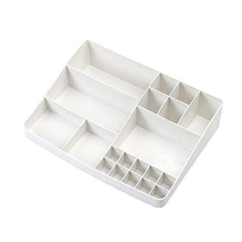 - OmkuwlQ Plastic Bedroom Bathroom Cosmetics Holder Makeup Stationery Storage Box Division Office Desktop Organiser