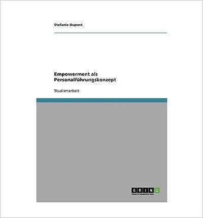 Book Empowerment ALS Personalfuhrungskonzept (Paperback)(German) - Common