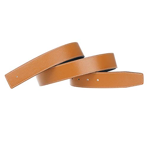 Replacement Leather Belt Strap Reversible Replacement Belt Strap Genuine Leather 1 1/2