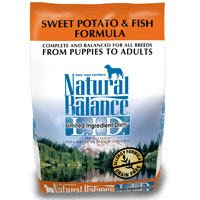 Natural Balance Sweet Potato and Fish Formula for Dogs 28-lb bag, My Pet Supplies