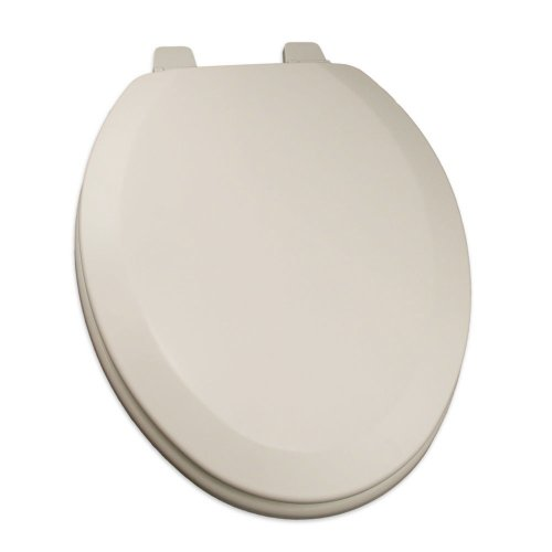 Mexican Sand Elongated Toilet Seat - Comfort Seats C1B4E2-02 Deluxe Molded Wood Toilet Seat, Elongated, Biscuit