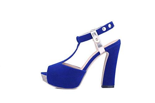 Adee , Damen Sandalen, blau - blau - Größe: EU 35