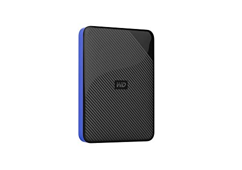 WD 4TB Gaming Drive Works with Playstation 4 Portable External Hard Drive - WDBM1M0040BBK-WESN - Western Digital External Portable Hard Drives