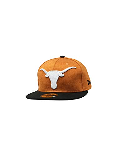 Texas Longhorns New Era 59Fifty Fitted Hat NCAA Straight Brim Caps 5950 (7, Burnt - Fitted Cap Longhorns Texas Hat