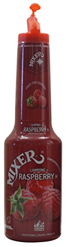 100% Mixer Raspberry Puree for cocktails 1L