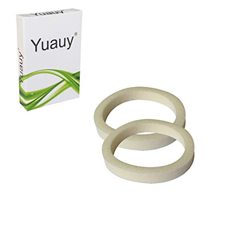 Yuauy 32mm Bicycle Sponge Ring Oil Dust Sealed Foam Ring Kit for Cycling Accessories 2pcs