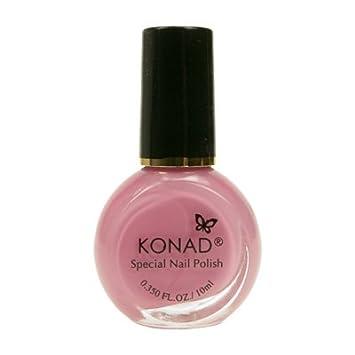Amazon Konad Nail Art Stamping Polish Pastal Pink Nail Art
