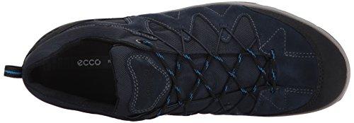 ECCO Men's Yura Hiking Shoe, Black Black (Black/Marine 50625)