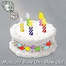 Amazon.com: Battery Operated Musical Birthday Cake with