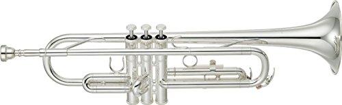 Yamaha Trumpet Standard SILVER Semi Hard