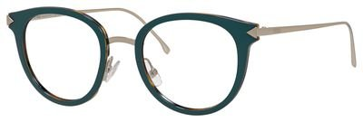 Eyeglasses Fendi 166 0V59 Blue Gold