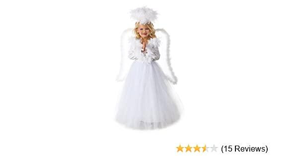 3a3d485dd362 Amazon.com: Premium Angel Annabelle Costume: Toys & Games