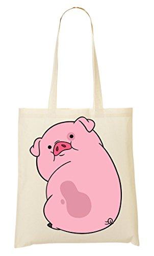 CP Shy Cute Pig Bolso De Mano Bolsa De La Compra