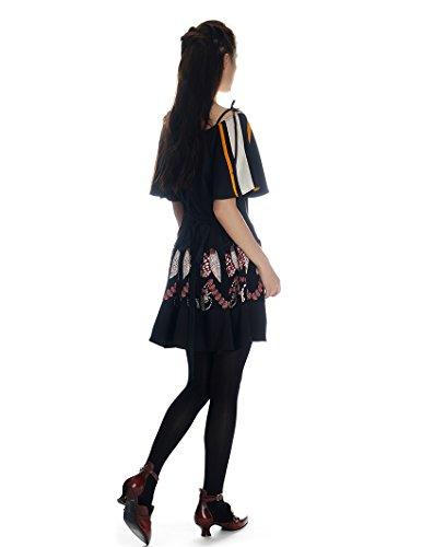FairyLotus - Robe - Pull - Femme noir noir