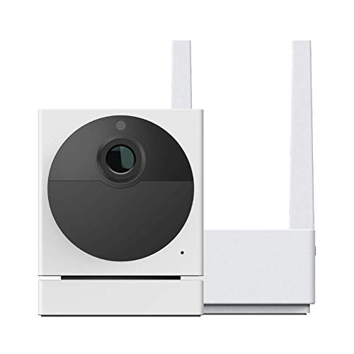 WYZE Cam Outdoor Starter Bundle (Includes Base Station and 1 Camera), 1080p HD Indoor/Outdoor Wire-Free Smart Home…