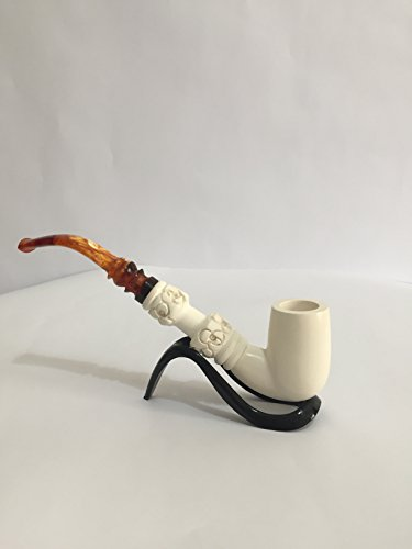 Meerschaum Pipes(unique handmade)-Hand Carved from the Best Quality BLOCK Meerschaum-NEW-5