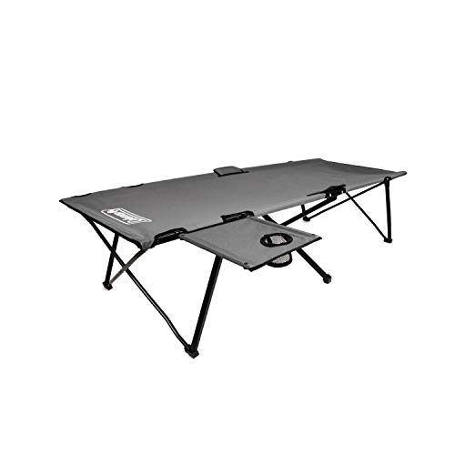 Coleman Camping Cot with Side Table | Pack Away Folding