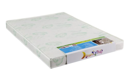 Dream On Me 3 Quot Playard Mattress White Buy Online In Uae