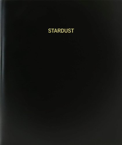 BookFactory® Stardust Log Book / Journal / Logbook - 120 Page, 8.5
