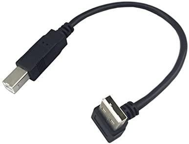 Cable USB 2.0 Macho a B Macho en ángulo de 90 Grados para ...