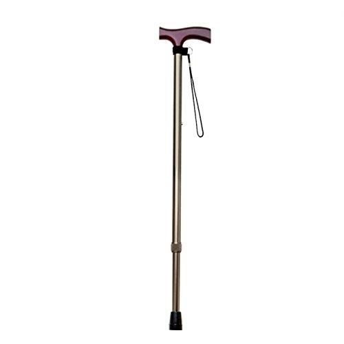 YANGXIAOYU Elderly People Walking Telescopic Crutches Travel Aids Walking Aids (Color : B) by YANGXIAOYUguaizhang