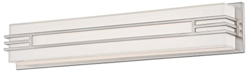 Minka Lavery 2943-84-L Level Bath Art LED Panel Wall Sconce Lighting, 26.5