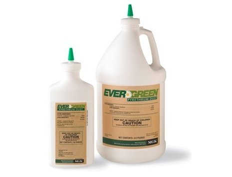 (MGK 7461-D26A Evergreen Pyrethrum Insecticide Dust, 10_Ounce)