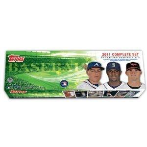Set 2011 Topps Baseball Card - MLB 2011 Topps Holiday Complete Set Series 1 and 2
