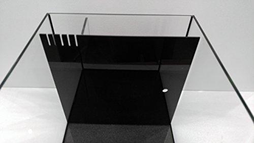 drop in diy acrylic cube hidden sump filter for 12x12 cube aquariums