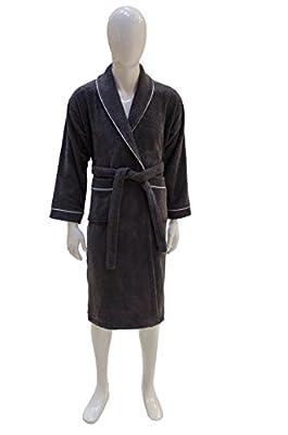 Soft & Softly Premium Quality 100% Turkish Cotton Men's or Women's Unisex Terry Cloth Bathrobe