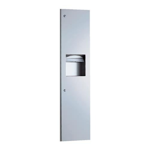 Bobrick - B-38034 - TrimlineSeries Paper Towel Dispenser and Waste Receptacle