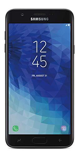 TracFone Carrier-Locked Samsung Galaxy J7 Crown 4G LTE Prepaid Smartphone - Black - 16GB - Sim Card Included - CDMA (Renewed)