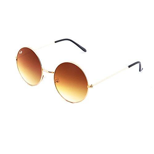 Marron FRIDA degradadas Bronce sol de Gafas TWIG espejo mujer Degradado f8POwq