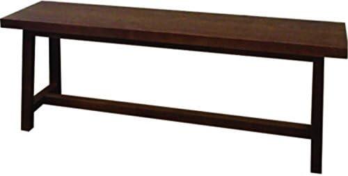 ベンチ チェア イス クリア塗装 ウッドベンチ サイズ:120×30×45cm