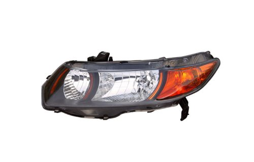 Eagle Eyes HD468-A011L 06-09 FOR HONDA CIVIC (SI MODEL, 2DR COUPE) HEADLIGHT - DRIVER - Eye Si