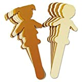CKC3637 - Chenille Kraft Paperboard People Craft Sticks