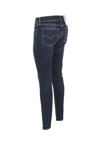 jeans levis 711 skinny bleu