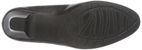 Tacco black 001 Con Scarpe Nero Donna 22463 Softline SApntt