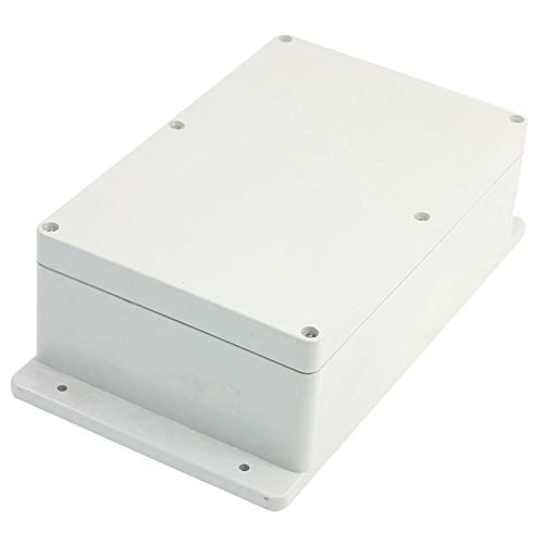 Proof Box Junction - BestTong ABS Plastic Junction Box, Dust-Proof Waterproof IP65 Electrical Enclosure Box - Universal Project Enclosure Grey 9