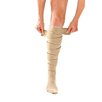 Image of Calf & Shin Supports Circaid Juxtafit Essentials Lower Leg Ready to Wear Compression Garment, Compression For Enhanced Blood Flow to Reduce Pain Caused By Lymphedema or Other Circulation Issues, Long, Full Calf-Large