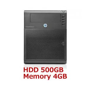 HP ProLiant MicroServer データー保存に 500GB マイクロサーバー N54L PROLIANT-500