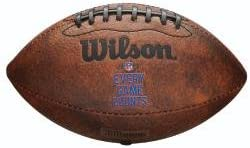 Wilson Mini – Balón de fútbol Americano de 22,9 Internacional ...