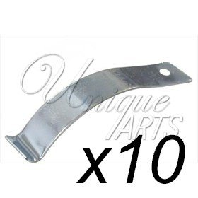 10 X Large Spring Clips Screws Holds Canvas Into Picture Frame