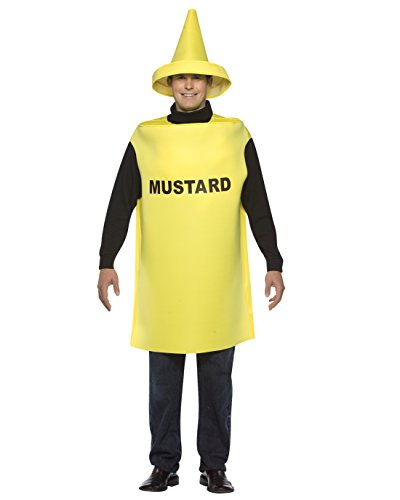 Mustard Costume Funny Food Costume Couples Costume Idea Sizes: One Size (Mother Daughter Costume Ideas)