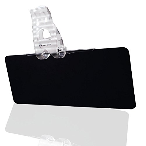Zento Deals Tinted Windshield Anti-glare Sun Visor - Is Transparent Sunglasses Translucent Or