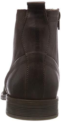 200 Brown Boot Laced Uomo Up Stivali BIANCO Marrone Dark A8xqw0zz