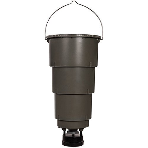 - Moultrie All-in-One Hanging Deer Feeder | 5-Gallon | Collapsible Bucket | Digital Timer