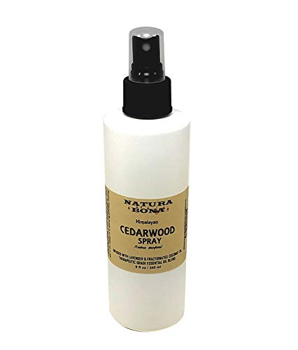 Cedar Oil Spray for Wood, Closet Shelves. Himalayan Cedar Wood Oil Infused with Lavender: Restore & Protect Furniture. (8oz Spray) (For Cedar Furniture)