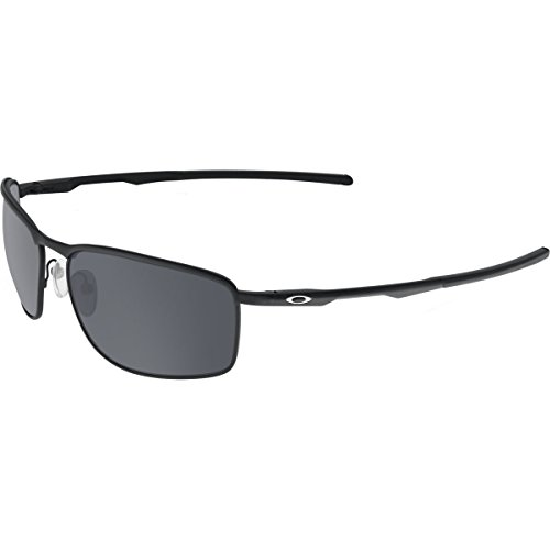 Oakley Men's Conductor 8 OO4107-02 Rectangular Sunglasses, Matte Black, 60 mm