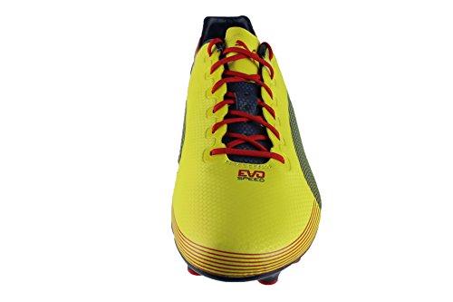 Evospeed Fg rouge Jaune bleu 1 Chaussure Foot Graphique De qaR7a